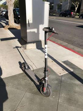 Electric bird scooter accidents Los Angeles